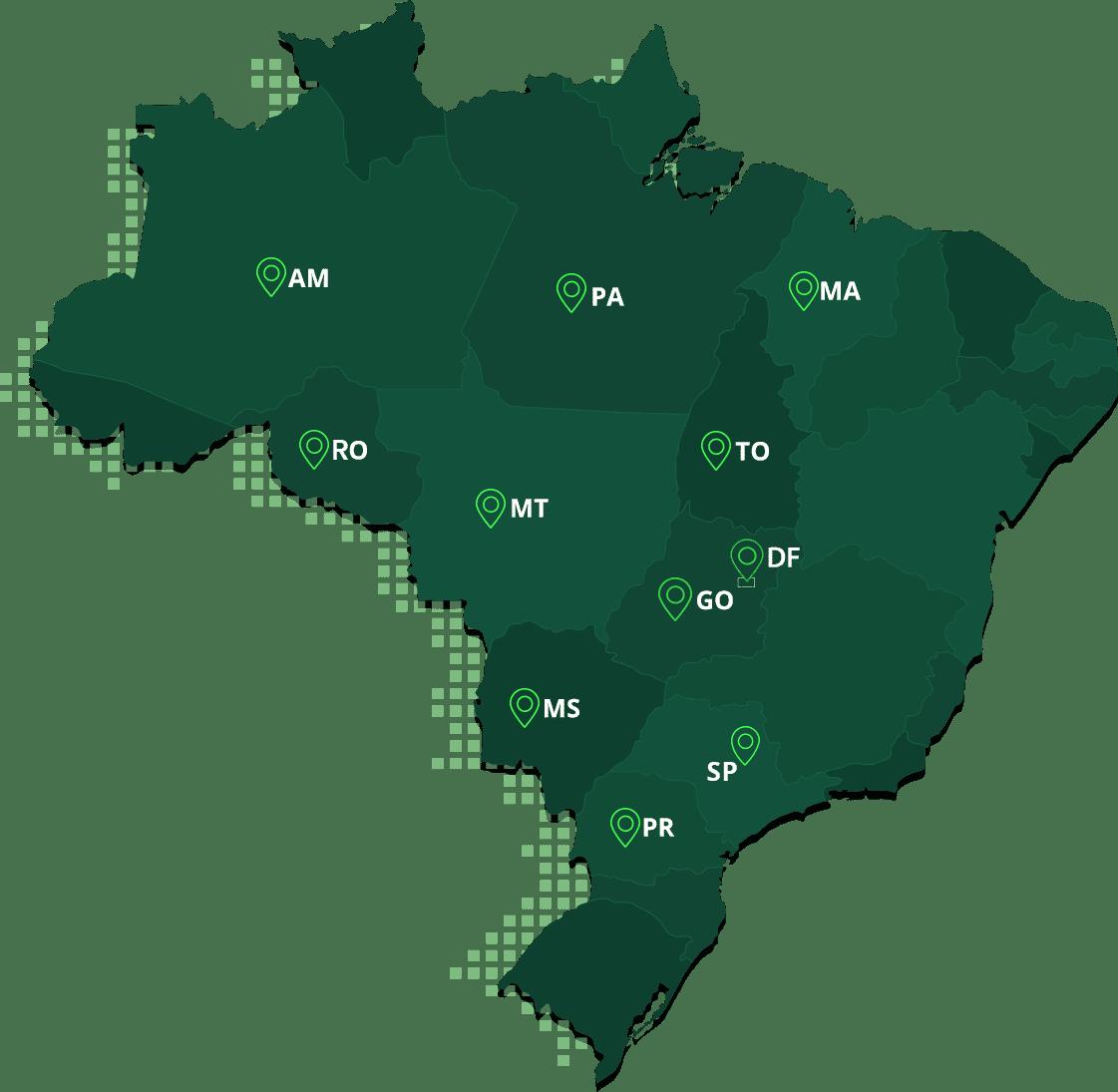 Mapa Unidades Tron